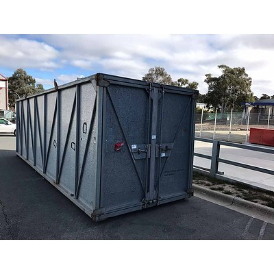 23ft Custom Built Shipping Container