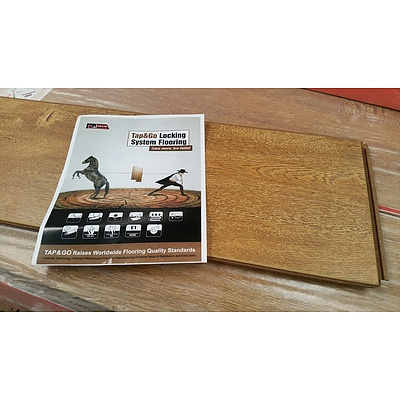 First Class Wood Flooring Co. Legacy Oak Laminate Flooring - 15.6024 Square Meters - Brand New