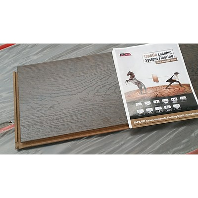 First Class Wood Flooring Co. Denver Wenge Laminate Flooring - 10.4016 Square Meters - Brand New