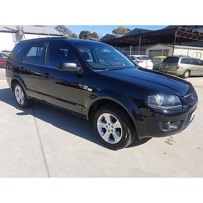 5/2009 Ford Territory TX (4x4) SY MKII 4d Wagon Black 4.0L