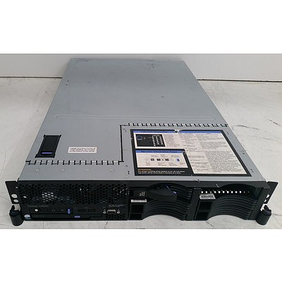 IBM (7979-AC1) System x3650 Dual-Core Xeon (5140) 2.30GHz 2 RU Server