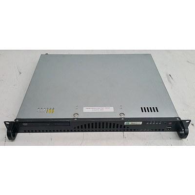 SuperMicro SuperServer (5016i-MRF) Quad-Core Xeon (X3430) 2.40GHz 1 RU Server