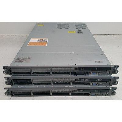 HP ProLiant DL365 & DL360 G5 1RU Servers - Lot of Three