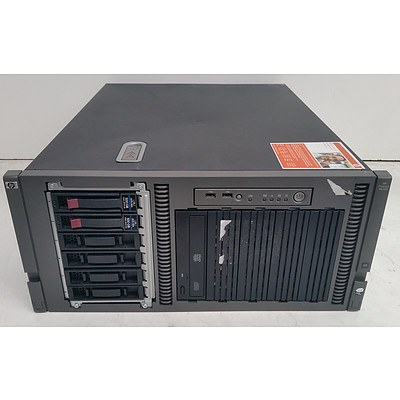 HP ProLiant ML350 G5 Quad-Core Xeon (E5410) 2.33GHz 5 RU Server