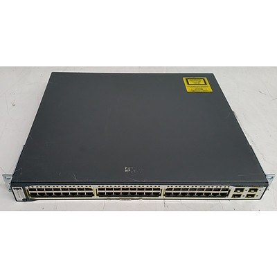 Cisco Catalyst (WS-C3750G-48TS-S V02) 3750G Series 48-Port Gigabit Managed Switch