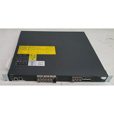 Cisco (DS-C9124-K9 V04) MDS 9124 Multilayer Fabric Switch