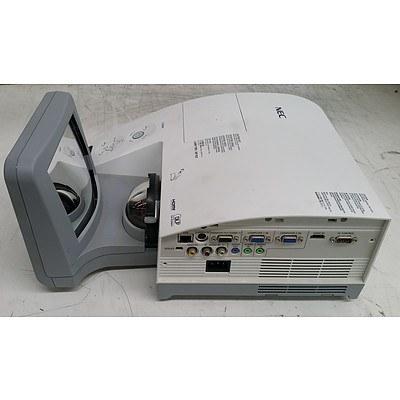 NEC (NP-U260WG) WXGA Ultra Short Throw DLP Projector