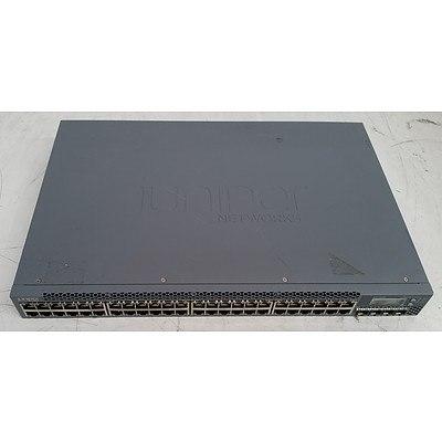 Juniper Networks (EX3300-48P) EX3300 PoE+ 48-Port Gigabit Switch