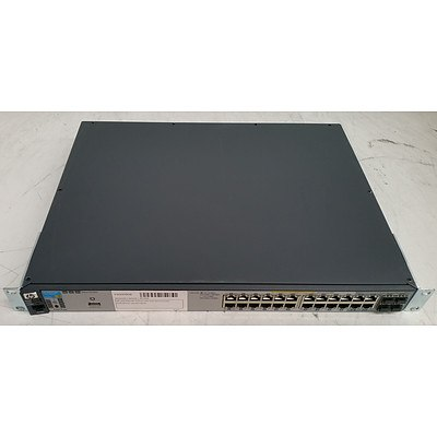HP (J9146A) 2910al-24G 24-Port Gigabit Managed Switch