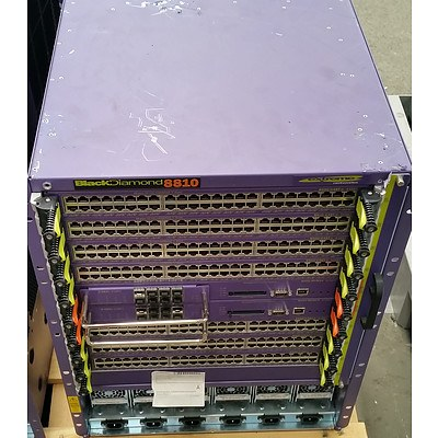 BlackDiamond (BD 8810) 8800 Series Network Chassis