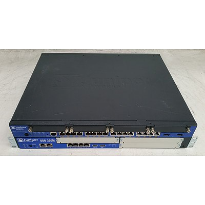 Juniper Networks SRX240 and 320M Services Gateway Appliance - Lot of Two