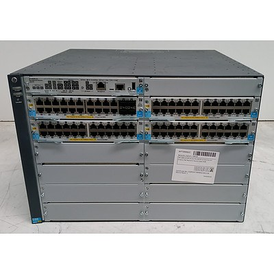 HP Aruba (J9851A) 5412R zl2 Network Switch
