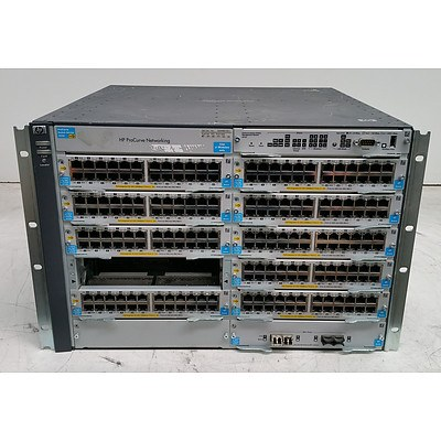 HP ProCurve (J8698A) E5412 zl Network Switch