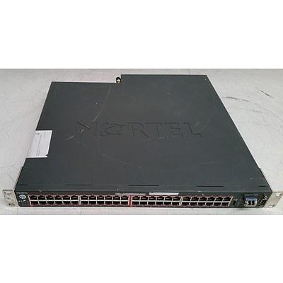 Nortel (5650-TD-PWR) 48-Port Gigabit Ethernet Routing Switch