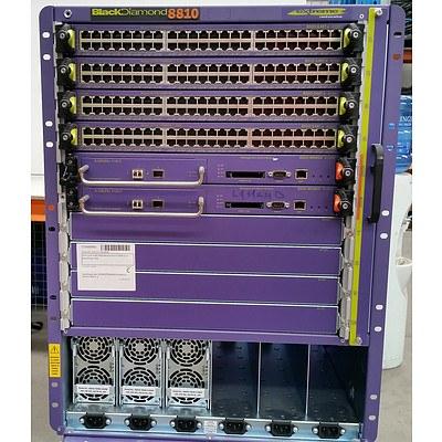 BlackDiamond (BD 8810) 8800 Series Network Chassis