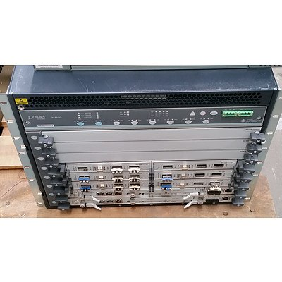 Juniper Networks (CHAS-BP-MX480-S-B) MX480 Networking Router Chassis