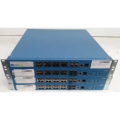 Palo Alto Networks (PA-2050) Firewall Security Appliance - Lot of Four
