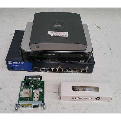 Lot of Assorted IT & Office Equipment - Service Gateways & Transceiver Modules