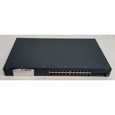 Juniper Networks (EX2200-24P-4G) EX2200 24-Port Gigabit Managed Switch