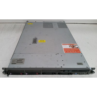 HP ProLiant DL360 G5 Dual Quad-Core Xeon (E5430) 2.66GHz 1 RU Server
