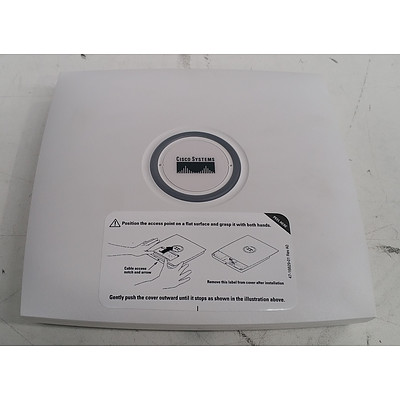 Cisco Systems (AIR-LAP1131AG-N-K9 V04) Aironet 1130AG Series Access Points - Lot of Four