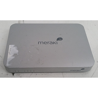 Meraki (600-16010) MX60 Cloud Managed Network Security Appliance