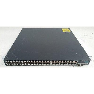 Cisco Catalyst (WS-C2948G-GE-TX) 48-Port Gigabit Managed Switch