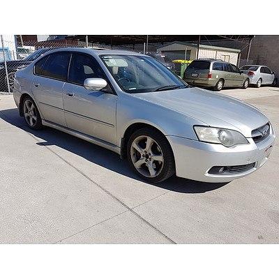 1/2006 Subaru Liberty 3.0R MY06 4d Sedan Silver 3.0L