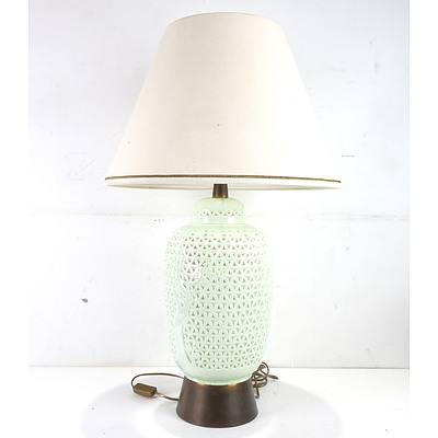 Asian Table Lamp