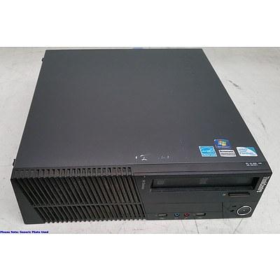 Lenovo ThinkCentre M81 Pentium (G620) 2.60GHz CPU Computers - Lot of Four