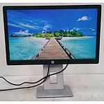 HP EliteDisplay (E222) 22-Inch Full HD (1080p) Widescreen LED-Backlit LCD Monitor - Lot of Two