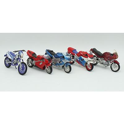 Five Motorbikes Including; BMW, YAMAHA, HONDA and KAWASAKI