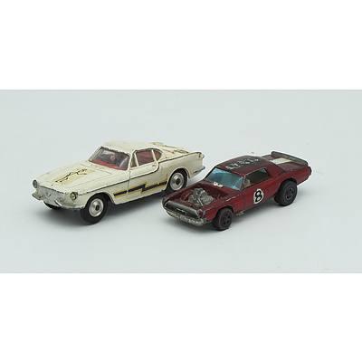 Hotwheels Redline TNT Bird, Corgi Toys Volvo P1800