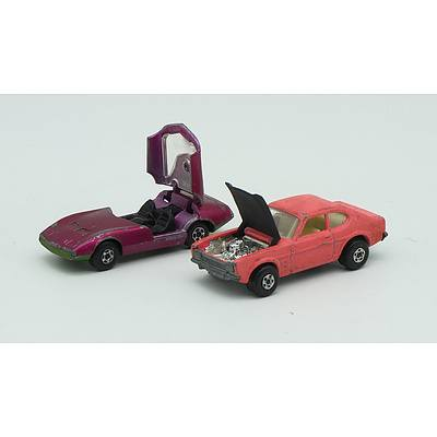 MatchBox Dodge Charger Mk3 Series No.52, MatchBox Ford Capri Series No.54