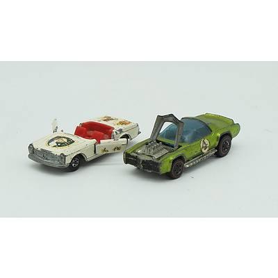 Hotwheels Sugar Caddy, MatchBox Series No.27 Mercedes 230 SL