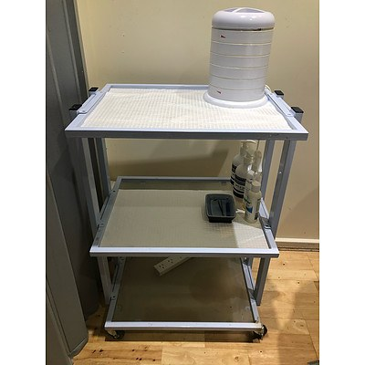 Beauty Storage Trolleys - Lot of 4