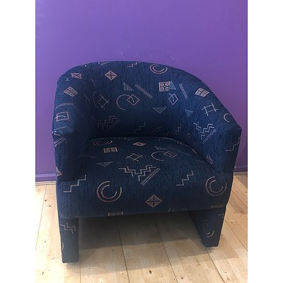 Tub Style Arm Chairs - Lot of 9