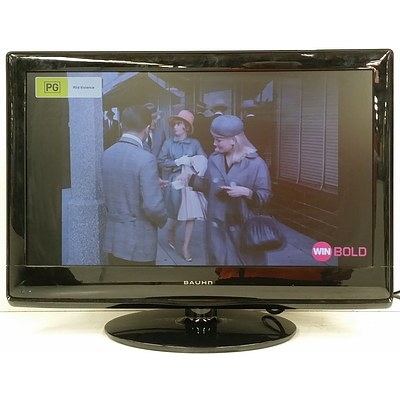 """Bauhn 24"""" LCD Television With Built in DVD Player"""