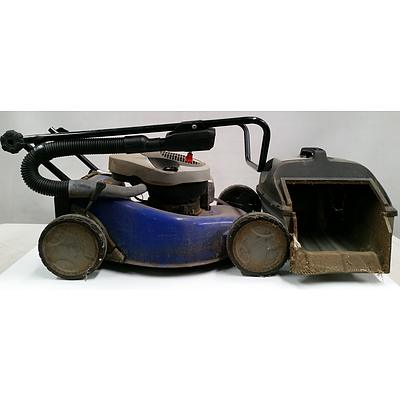 Lawn Mower and Catcher