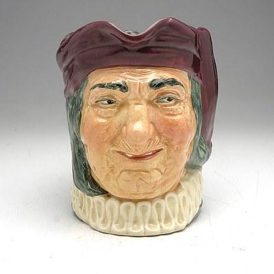 Antique Royal Doulton 'Simon Cellarer' Toby Jug
