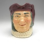 Antique Royal Doulton 'Simon Cellarer' Toby Jug