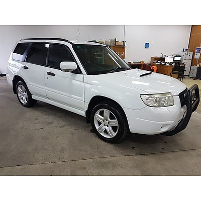 3/2007 Subaru Forester XT MY07 4d Wagon White 2.5L