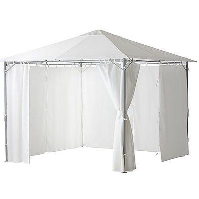Ikea Karlso 3 Meter x 4 Meter Gazebo With Curtain