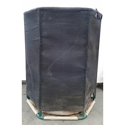 6 Sided Poly Pipe Soft Shell HandyTank Water Tank