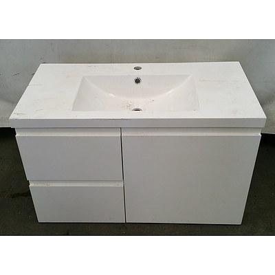 Bathroom Vanity with 2 Drawers