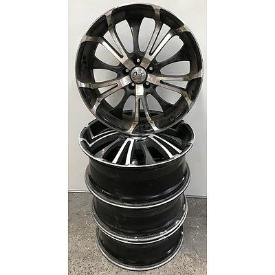 Set Of Osaka 20 Inch Racing Wheels