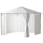 Ikea Karlso 3 Meter x 4 Meter Gazebo With Curtain