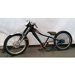 Custom Modified Low Riding Bicycle