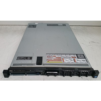 Dell PowerEdge R620 Eight-Core Xeon CPU (E5-2650 v2) 2.60GHz 1 RU Server