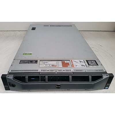 Dell PowerEdge R820 Quad Eight-Core Xeon CPU (E5-4650 0) 2.70GHz 2 RU Server